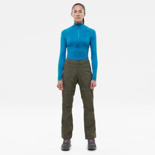 Women's Hybrid Long-Sleeve Zip Shirt-