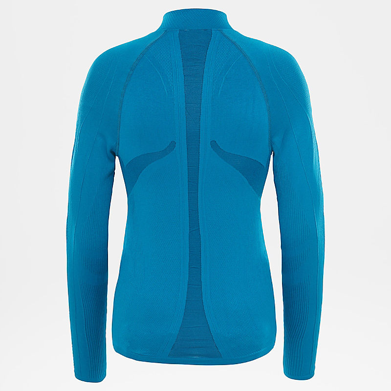 Women's Hybrid Long-Sleeve Zip Shirt-