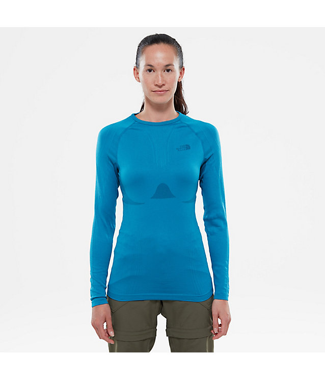 Women's Hybrid Long-Sleeved Crew Shirt | The North Face