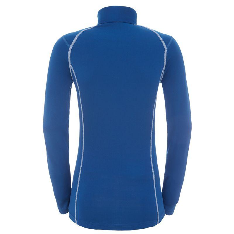 Damen Thermo-Langarmshirt mit Reißverschluss-