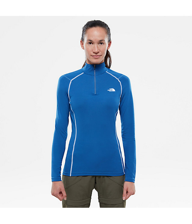 Women's Warm Long-Sleeve Zip Shirt | The North Face
