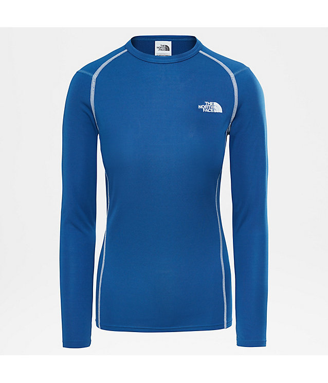 Warm T-shirt met ronde hals en lange mouwen voor dames | The North Face