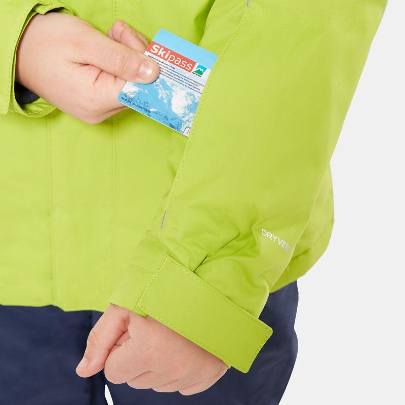 Snow Quest-jas voor jongeren-