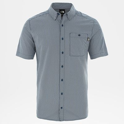 The North Face Chemise Hypress Pour Homme Blue Wing Teal Taille XL Men
