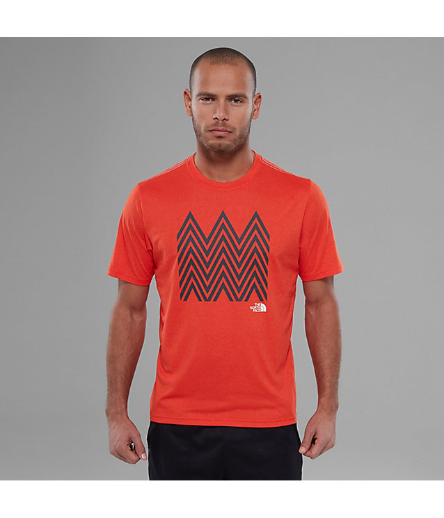 MA Graphic Reaxion Ampere-shirt voor heren | The North Face