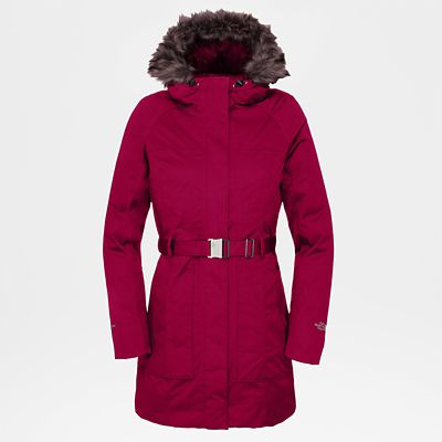 The North Face Womens Brooklyn Jacket Rumba Red Size L
