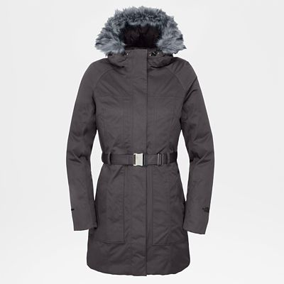 The North Face Womens Brooklyn Jacket Rabbit Grey Size XL