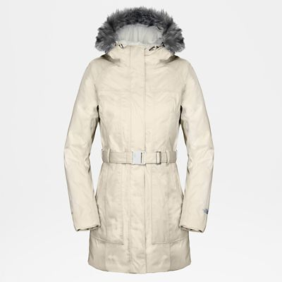The North Face Womens Brooklyn Jacket Vintage White/tnf Blac