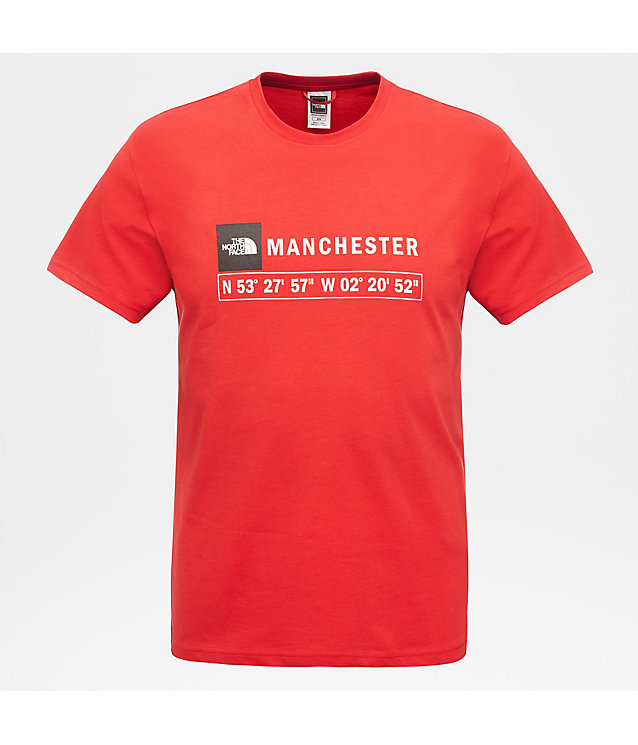 Manchester T-shirt voor heren | The North Face