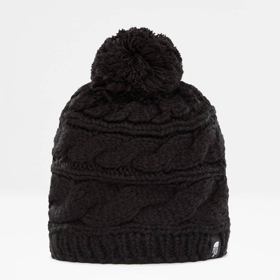 Women's Triple Cable Beanie-