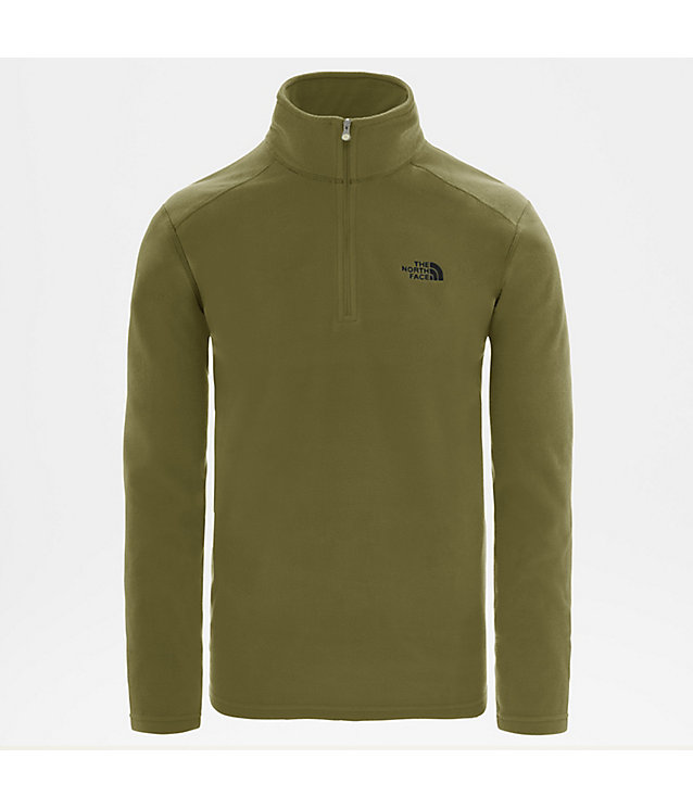 EMILIO-FLEECE MET KWARTRITS VOOR HEREN | The North Face