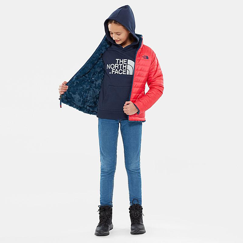 Girl's Reversible Mossbud Swirl Jacket-