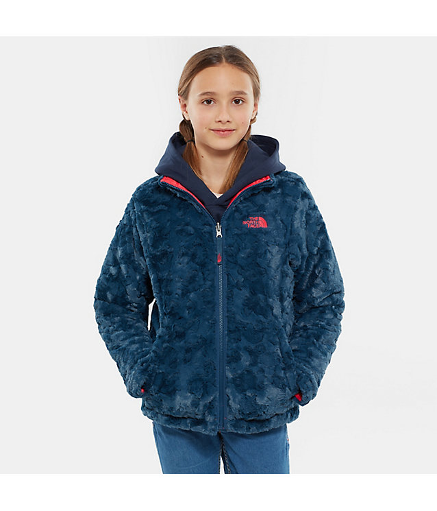 Reversible Mossbud Swirl-jas voor meisjes | The North Face