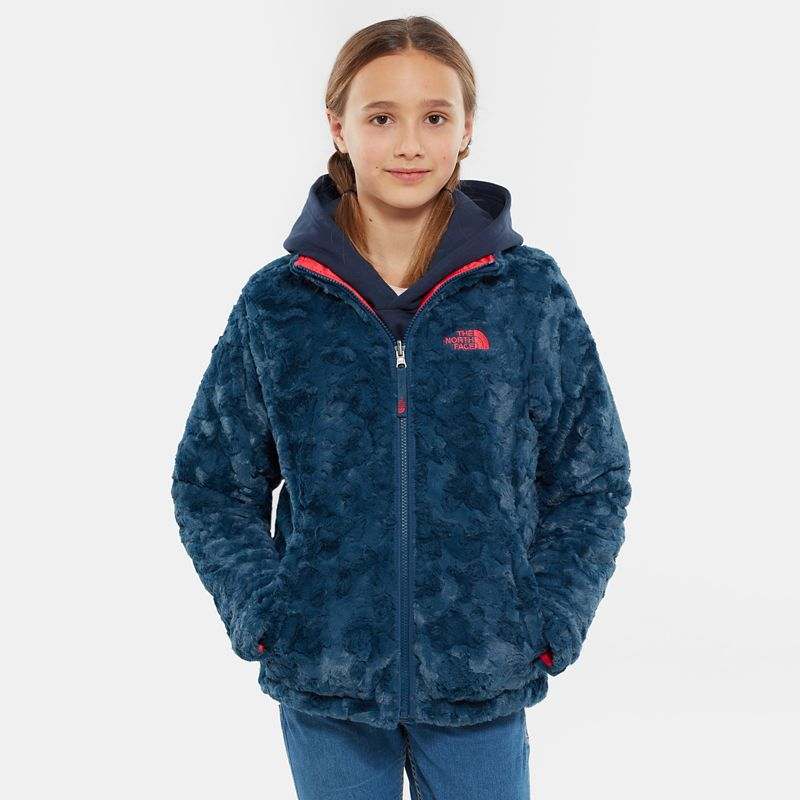 Girl's Reversible Mossbud Swirl Jacket-
