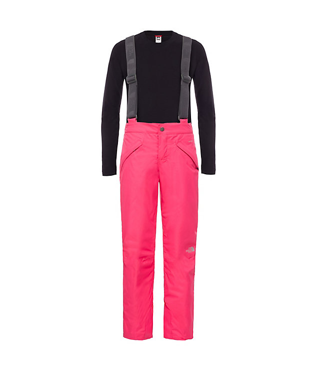 Girls' Snowquest Suspender Trousers | The North Face