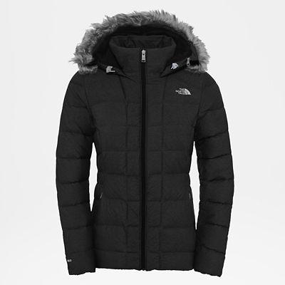 The North Face Womens Gotham Jacket Tnf Black/high Rise Grey